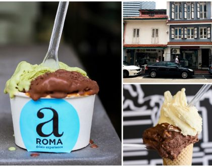 aROMA Gelato Experience - Smooth, Sticky Italian Gelato At Arab Street And Plaza Singapura