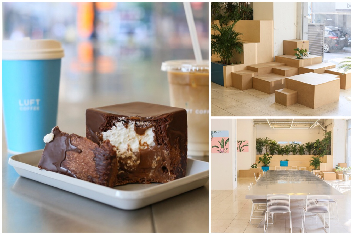 Luft Coffee - Minimalist Cafe With Hawaiian Concept In The Heart Of Myeongdong, Seoul