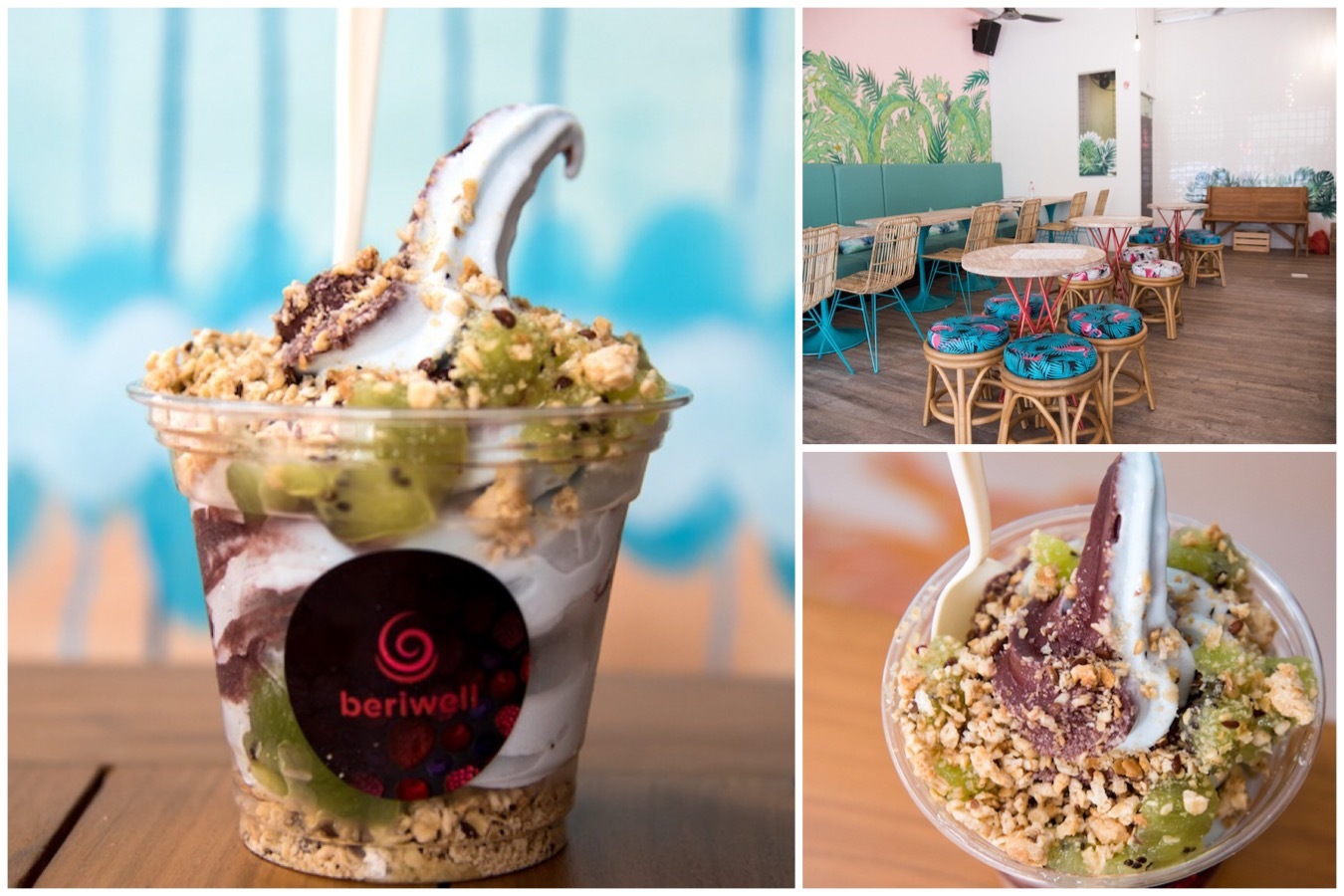 Beriwell - Singapore's First Acai Softserve At East Coast, Opens Till 11pm