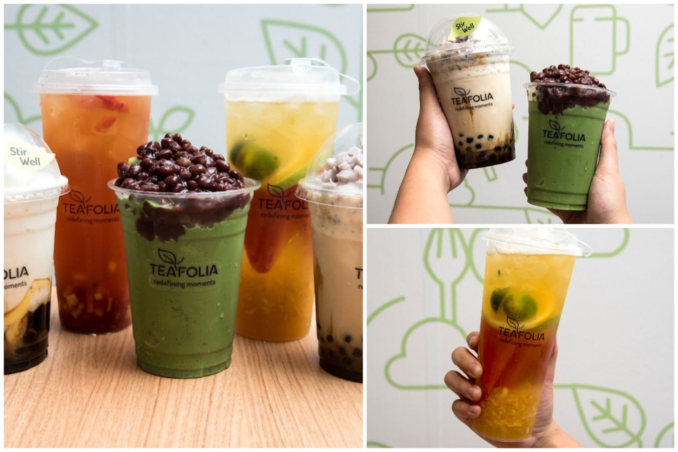 Teafolia - Booming Trend Of Fruit Tea Kiosks In Singapore. Really Healthier And Tastier?