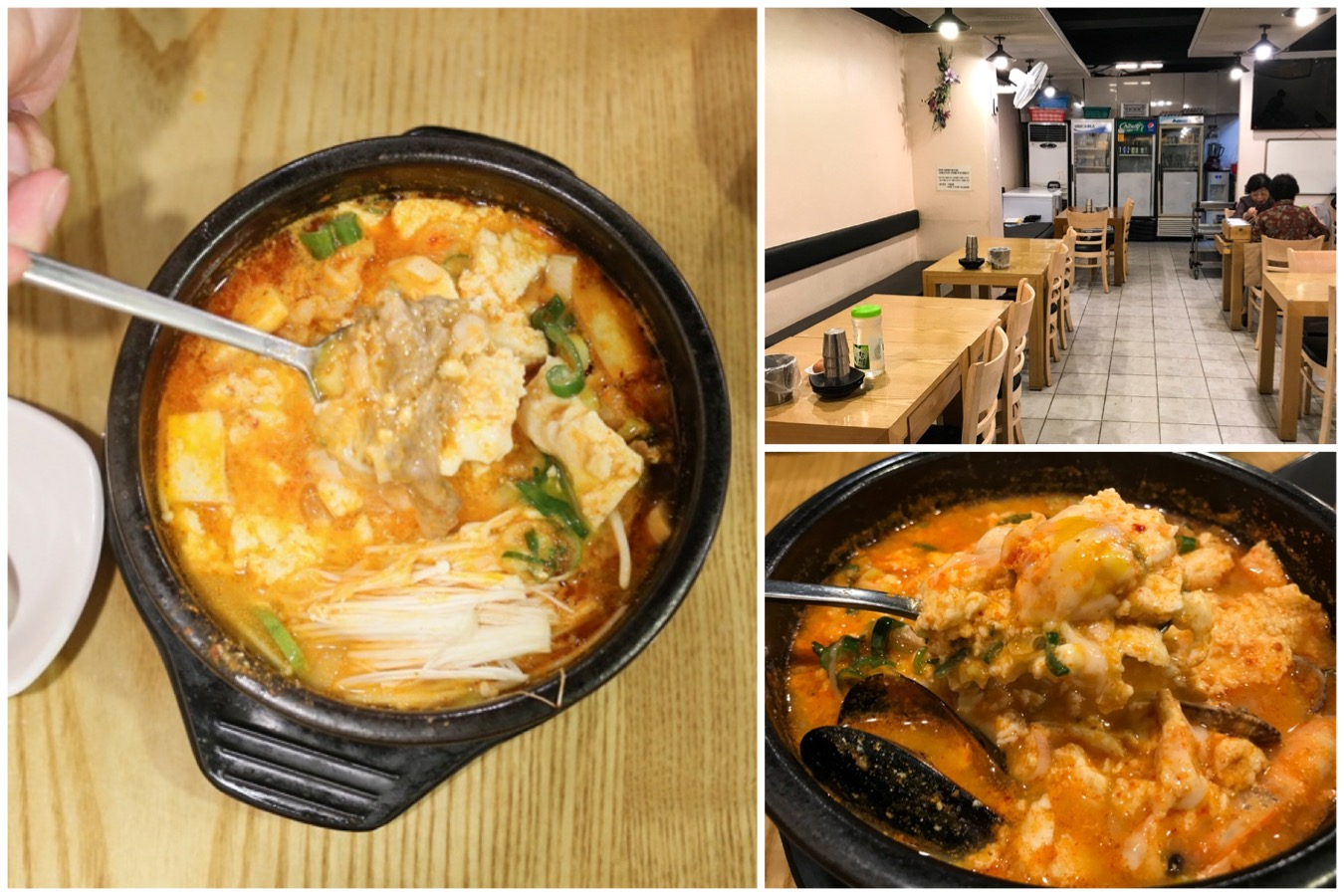 Myeongdong Sundubu - Comforting And Spicy Soft Tofu Stew, At Myeongdong Seoul