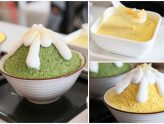 Babao Dessert - Matcha And Durian Kakigori, Along With Local Traditional Desserts