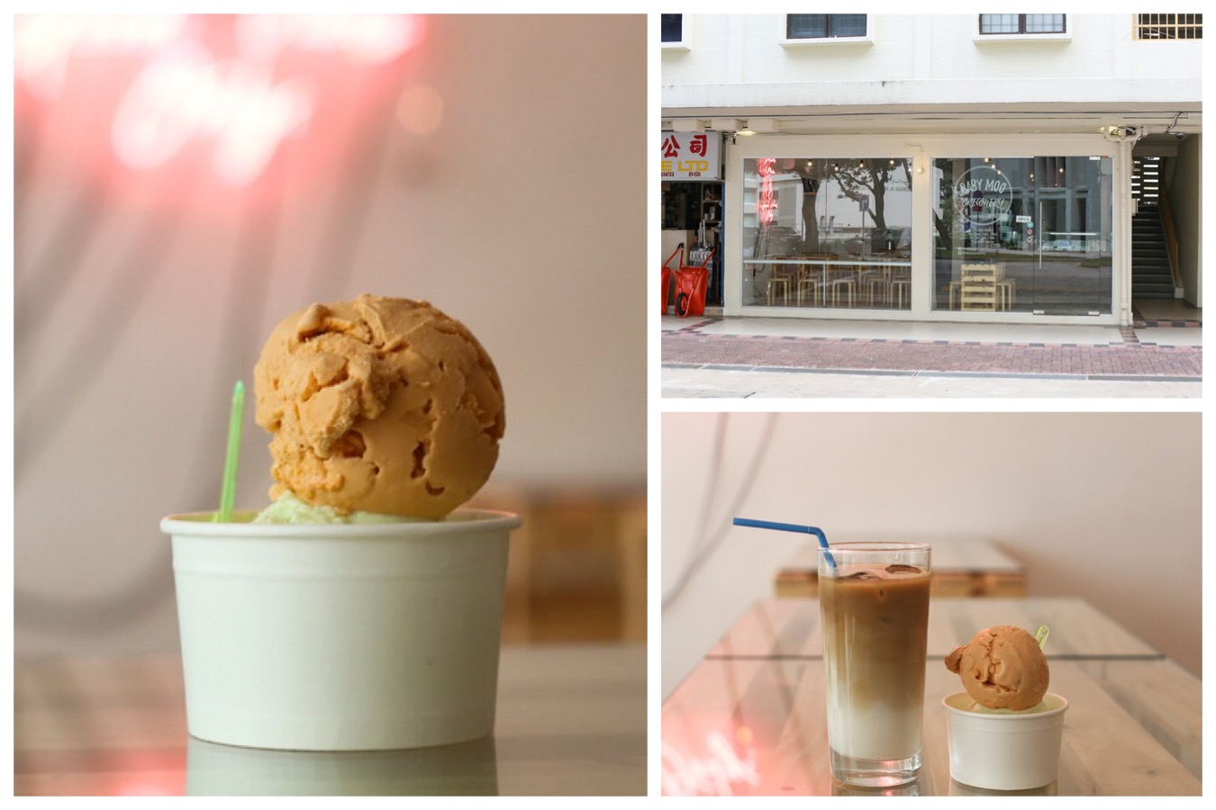 Baby Moo Creamery - NEW Gelato Cafe At Toa Payoh Lor 6, With Mao Shan Wang And Belgium Dark Chocolate Flavours