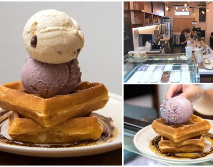 Creamier - Popular Ice Cream And Waffles Cafe Opens At Tiong Bahru, At Yong Siak Street