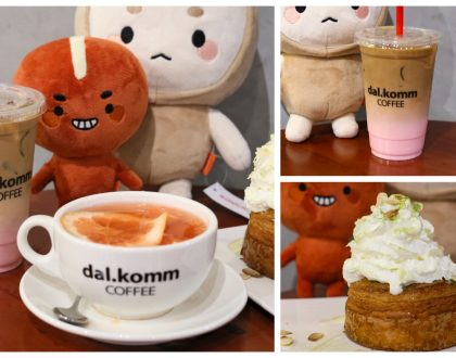 "Dal.komm Coffee - ""DOTS & Goblin"" Korea Cafe Opens At Marina Square, With Cruffin And Bingsu"