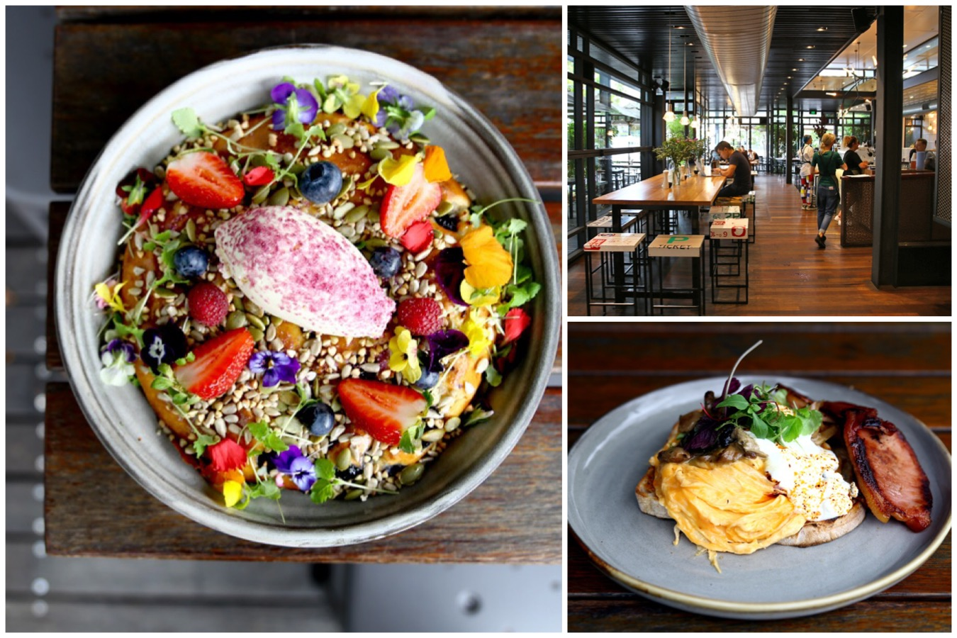 Top Paddock - Hip Cafe With Inventive Menu In Melbourne. Those Ricotta Hotcakes Started Here