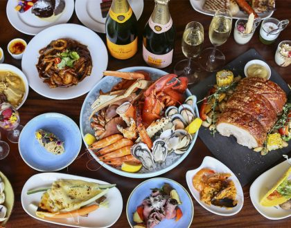 Edge, Pan Pacific Singapore - Theatrical Sunday Champagne Brunch. Plus 20% OFF Buffet Lunch & Dinner
