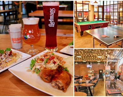 Beer Belly - Hipster Craft Beer Restaurant For Fun & Games Galore, At 72 Courtyard Thong Lor Bangkok