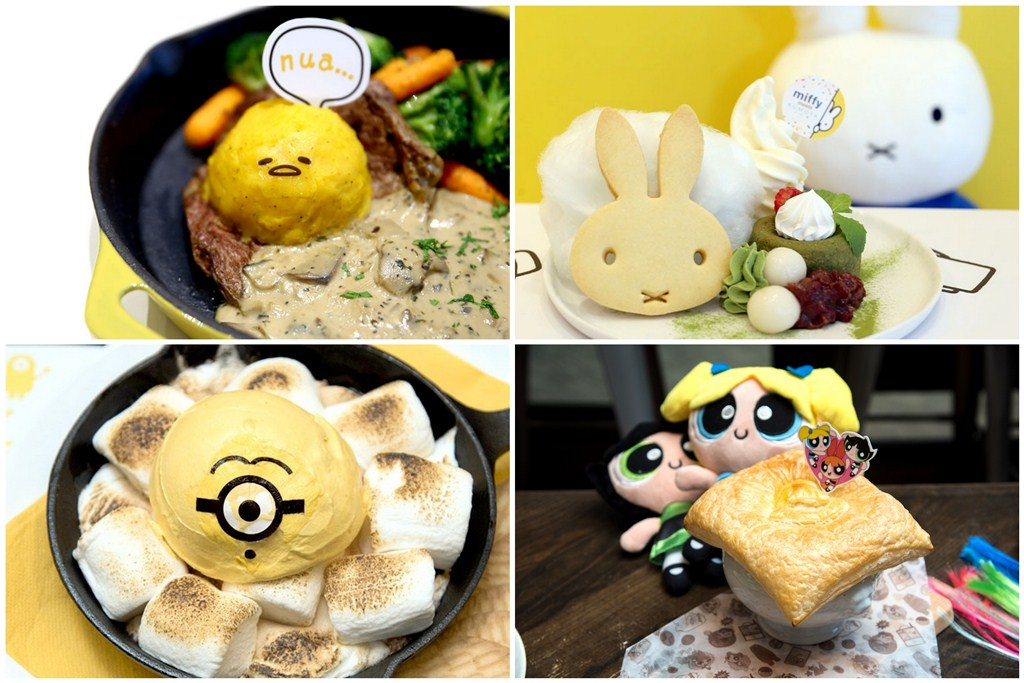 8 Character Cafes In Singapore - Minions, Miffy, Powerpuff Girls And Gudetama Cafes With Cuteness Overload