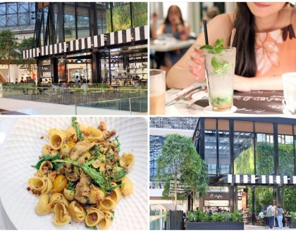 PS.Cafe - Stunning NEW Outlet At Raffles City, Styled Like A Glasshouse In The Sky