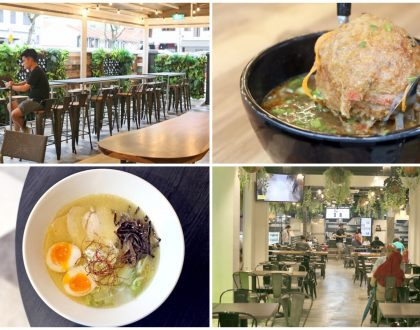 FOMO Singapore - Hipster Food Court In The Heart Of Kampong Glam. For Kakak Kentang, Laksa Pasta, Chicken Ramen