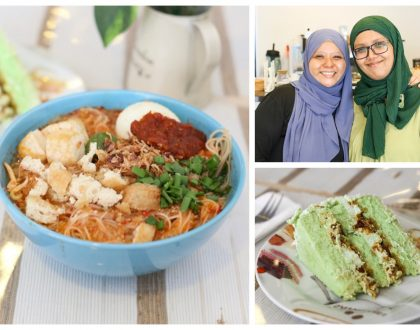 "Lina's Café – A ""Friends of Autism"" Café. Try The Mee Rebus, Ondeh Ondeh Cake And Pandan Mille Crepe"
