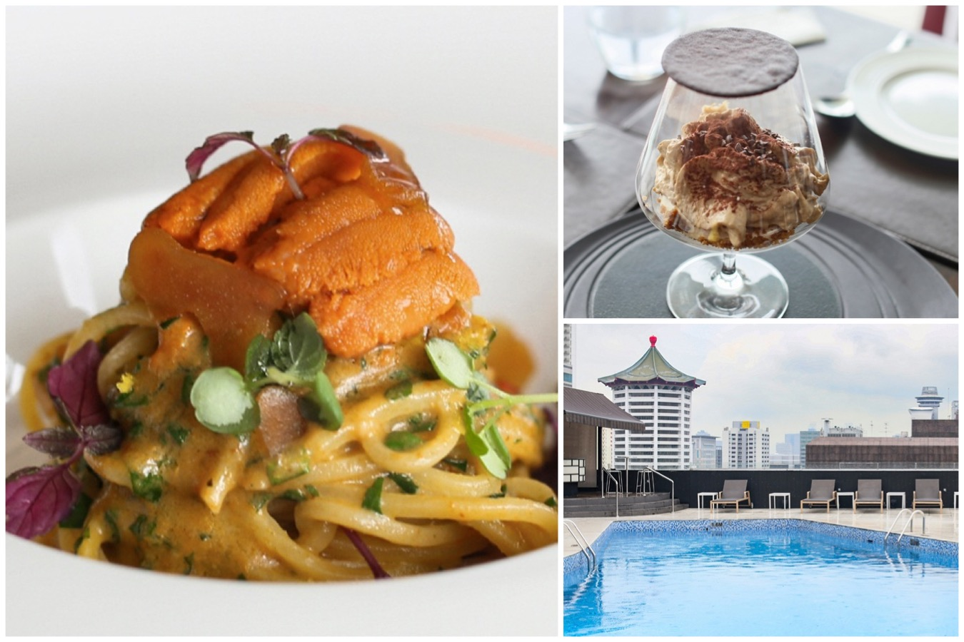 il Cielo - Hidden Gem Of Italian Cuisine with Japanese Flair, Poolside Restaurant With Scenic View Of Orchard Road