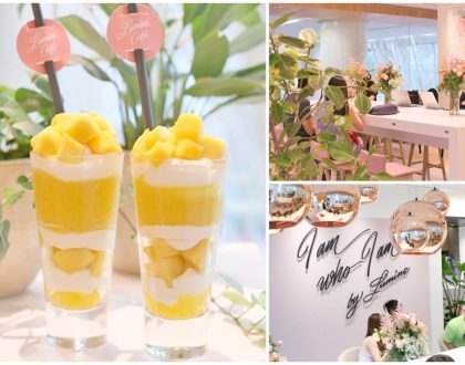LUMINE Café Singapore - 1st Ever LUMINE Café Opens At Clarke Quay Central, Offering Fruit Parfaits And Drinks