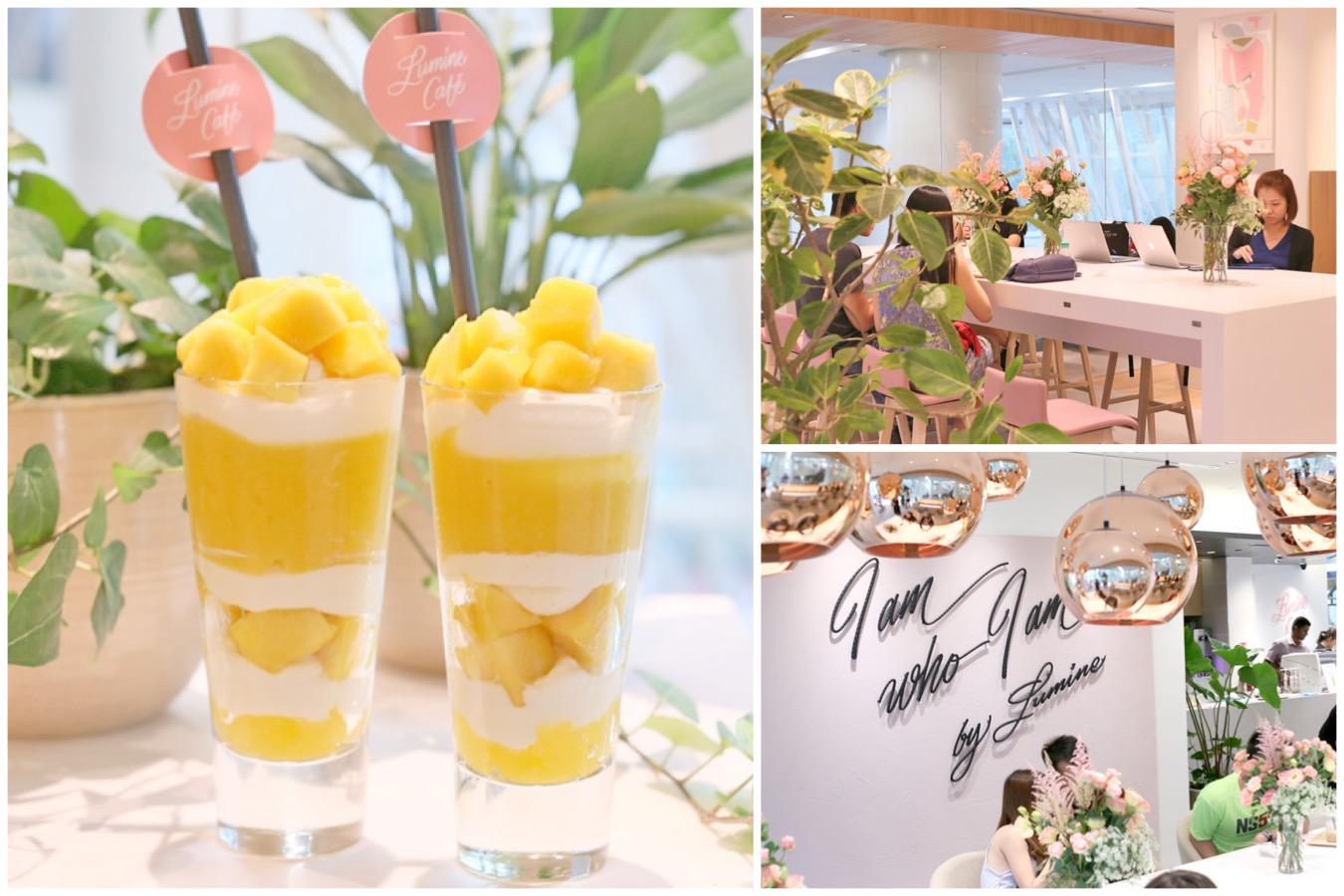 LUMINE Café Singapore - 1st Ever LUMINE Café Opens At Clarke Quay Central, Offering Fruit Parfaits And Drinks