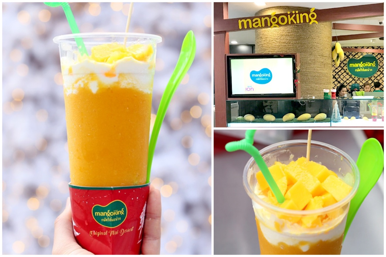 [Closed] Mango King - Sweet Thai Mango Dessert Cups Arrive In Singapore, At ION Orchard