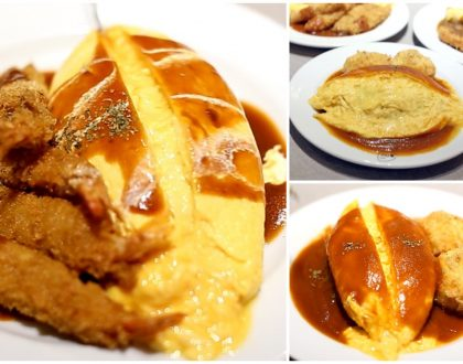 OMU Singapore - Lava Omurice With Creamy Centre In Singapore At Suntec City