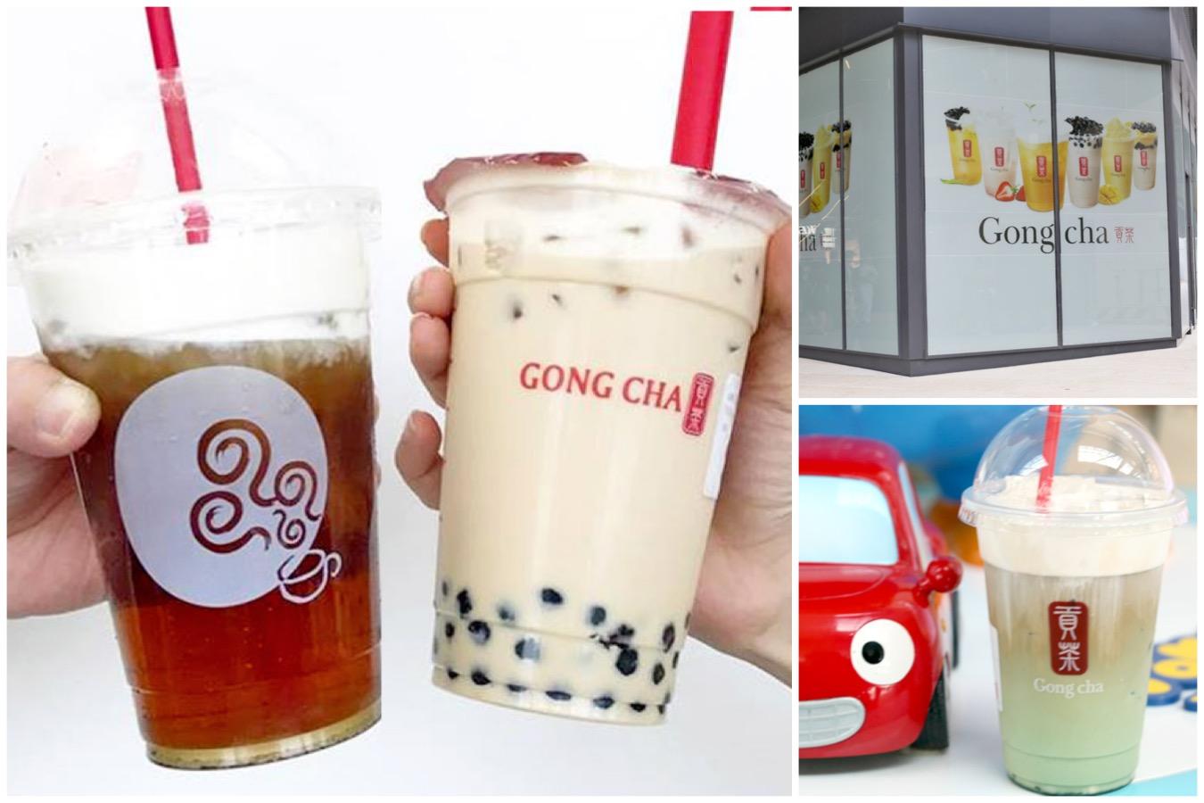 Singapore gong cha girl 3