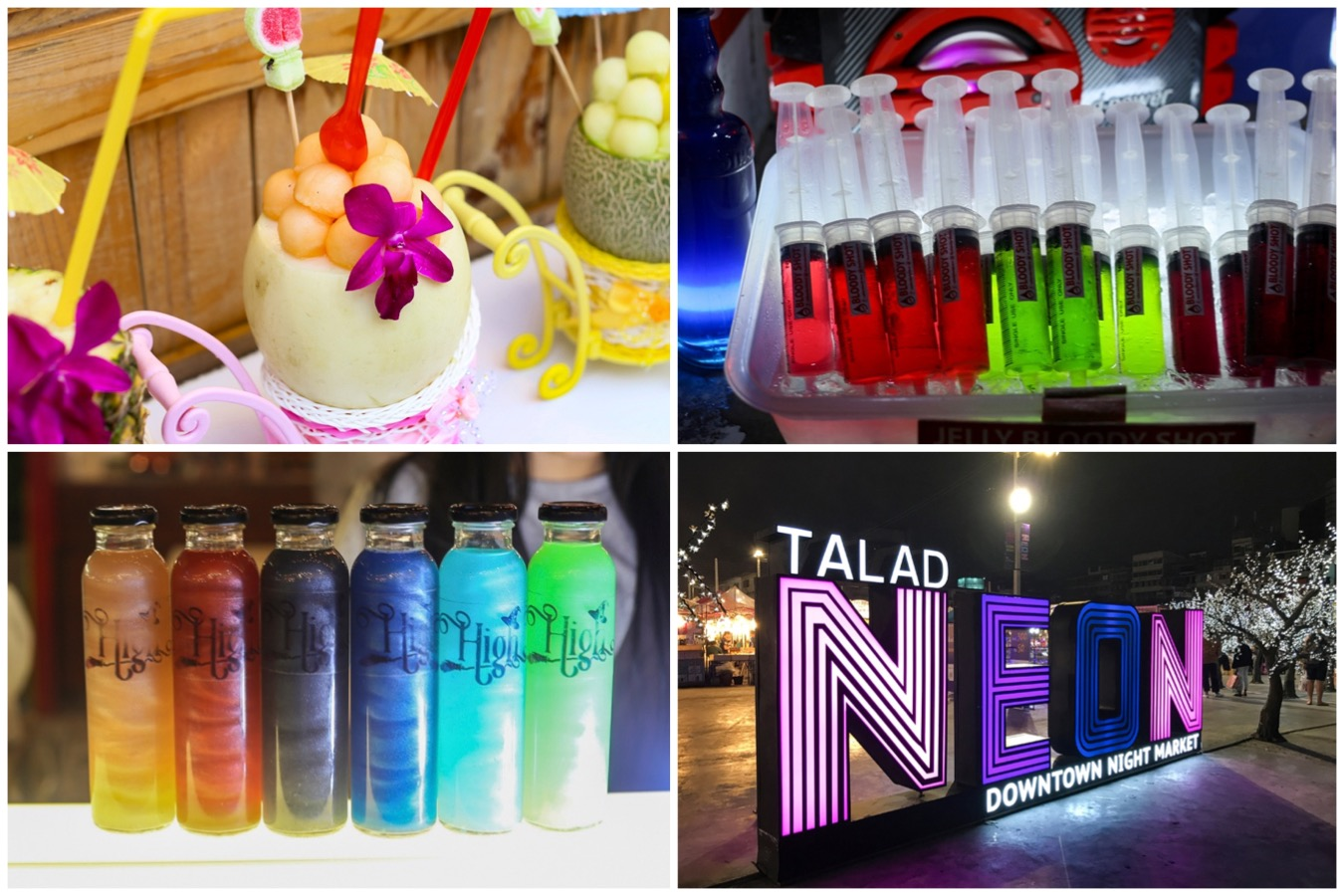 Talad Neon – Downtown Night Market At Bangkok With Hipster Food. Slightly Underwhelming