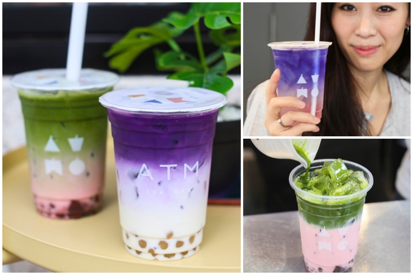 ATM Tea Bar - Instagrammable Bubble Tea On Another Level, At Siam Square Bangkok
