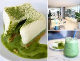 Kaizen Coffee Co. - All White Interior, With Good Coffee And Matcha Lava Cheesecake. At Ekkamai Bangkok