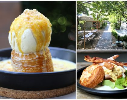 Vanilla Garden - Hidden Find. Bakeshop & Japanese Cafe Within A Garden At Ekkamai Bangkok