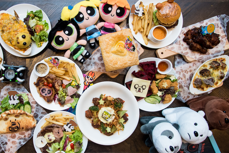 Cartoon Network Cafe - Powerpuff Girls, We Bare Bears, Ben 10 And Adventure Time Land At Punggol Waterway Point