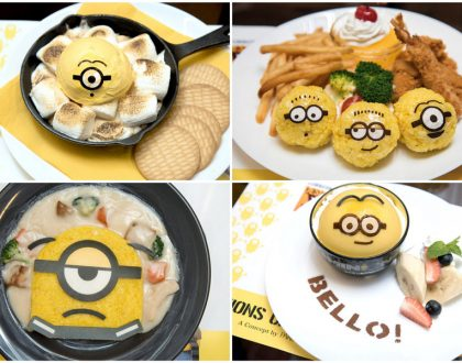 Minions Café Singapore - Bello! These Yellow Fellows Arrive At Orchard Central From 23 Nov - 31 Jan