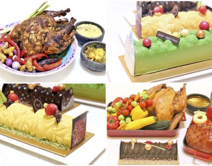 Pacific Marketplace - Festive Goodies & Log Cakes With Local Flavours At Pan Pacific Singapore. 15% OFF, Plus Stand A Chance To Win A Staycation
