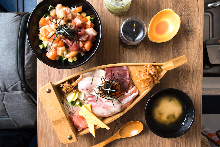 The BetterShip – Sashimi Don In A Wooden Ship Bowl, Donburi Shop Sails Into The Cathay