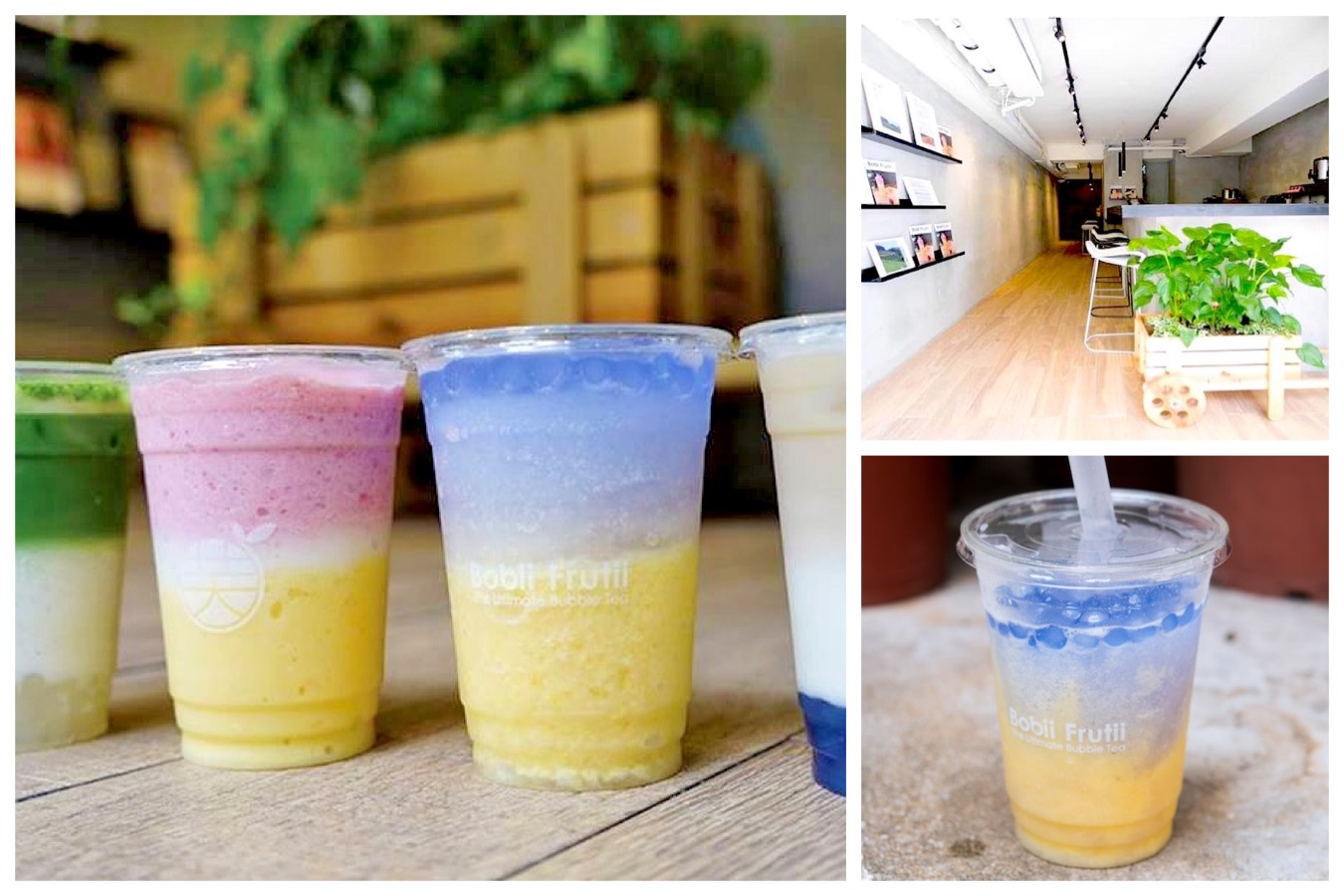 Bobii Frutii 珍珠水果特調 - Taiwan's Most Intagrammable Bubble Tea, Opening In Singapore At The Clementi Mall
