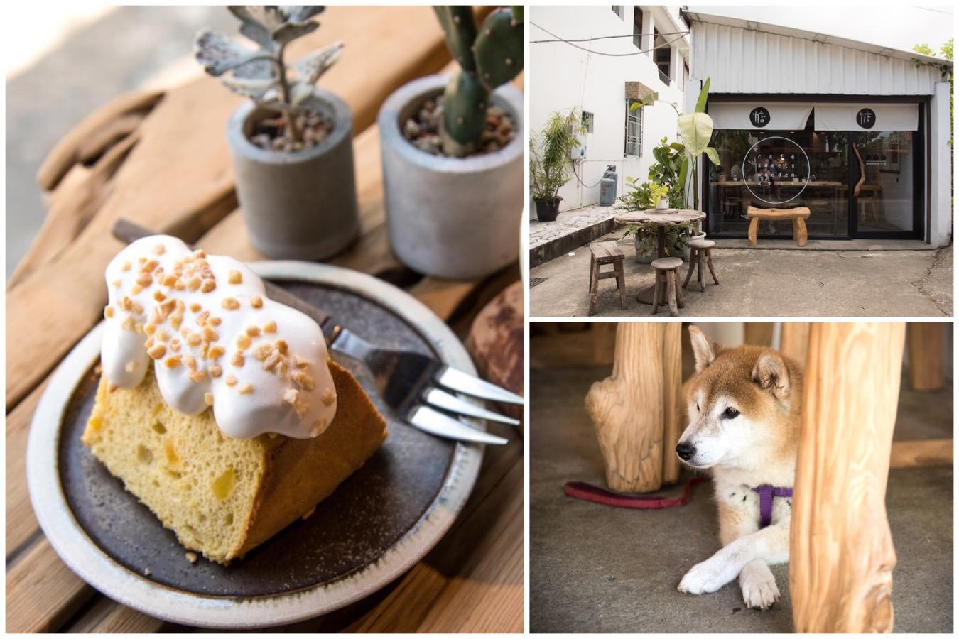 惦惦 lab:tiamtiam - Garage Turned Cafe Beside Shinto Shrine, At Hualien City Taiwan