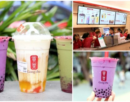 Gong Cha Classic - Takashimaya Branch Serves Up 22 Of GC's Most Popular Drinks. Queue Has Died Down
