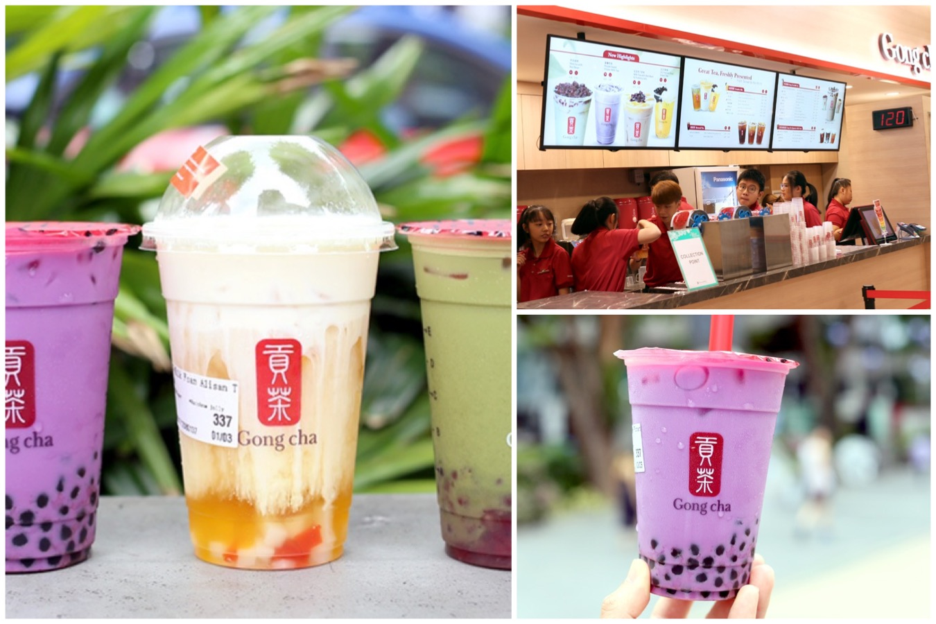 Gong Cha Classic - Takashimaya Branch Serves Up 22 Of GC's Most Popular Drinks