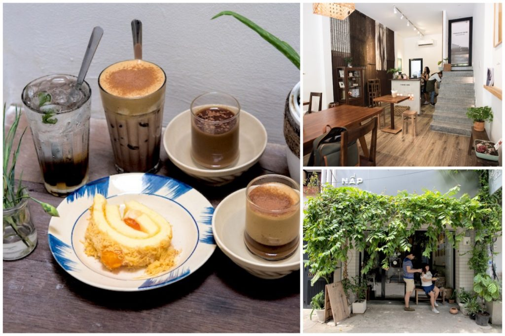 Nấp Saigon – Instagrammable Cafe with Airbnb Accommodation, At Ho Chi Minh City