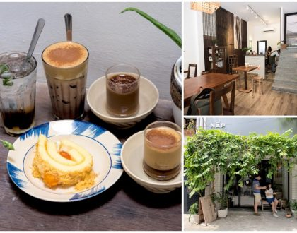 Nấp Saigon - Instagrammable Cafe with Airbnb Accommodation, At Ho Chi Minh City