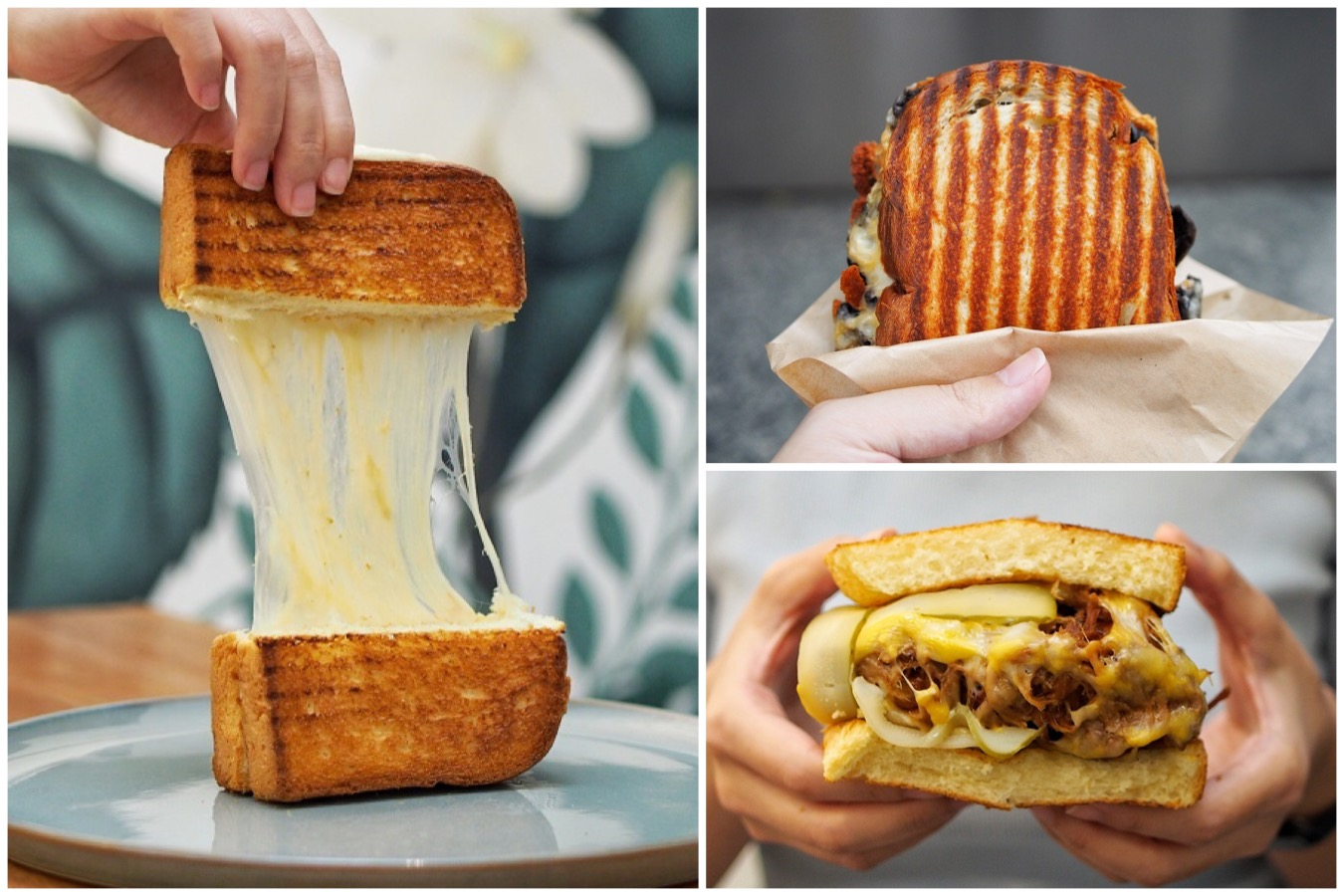 52 Sandwich Shack - Stretchy Cheese Toast Sandwich