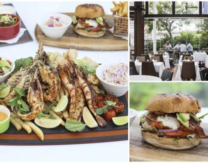 Dallas Restaurant and Bar – Mega Seafood Lobster Platter & Lobster Burger, Hidden Gem At Suntec City Sky Garden