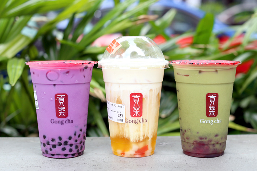 Gong Cha Singapore - Flagship Store At SingPost Centre With NEW Drinks