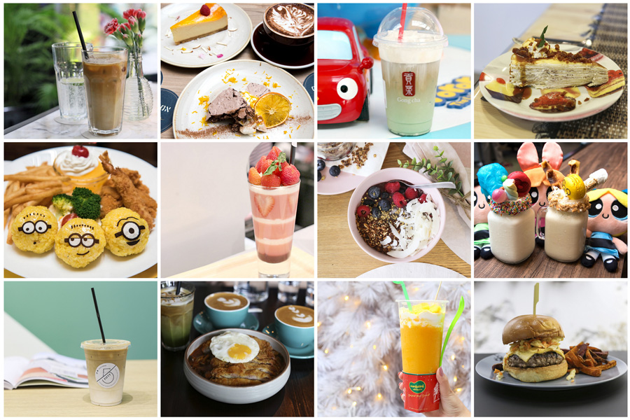 """12 NEW Cafés In Singapore December 2017 - Gong Cha, """"Friends Of Autism"""" Cafe, Mango King, Cartoon Network Cafe"""