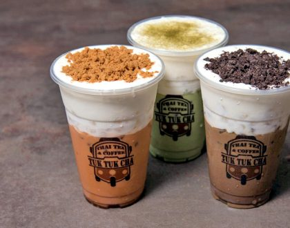 Tuk Tuk Cha - Thai Cafe Known For Thai Milk Tea And Desserts, Now Halal-Certified For All 10 Outlets