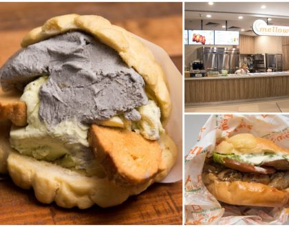 Mellow Pan。メロ Singapore - 1st Japanese Melonpan Specialty Shop With Ice Cream At Our Tampines Hub