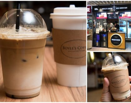 Boyle's Coffee X Cold Brew Bar - World's 1st Cold Brew Coffee Bar In Singapore At Suntec City