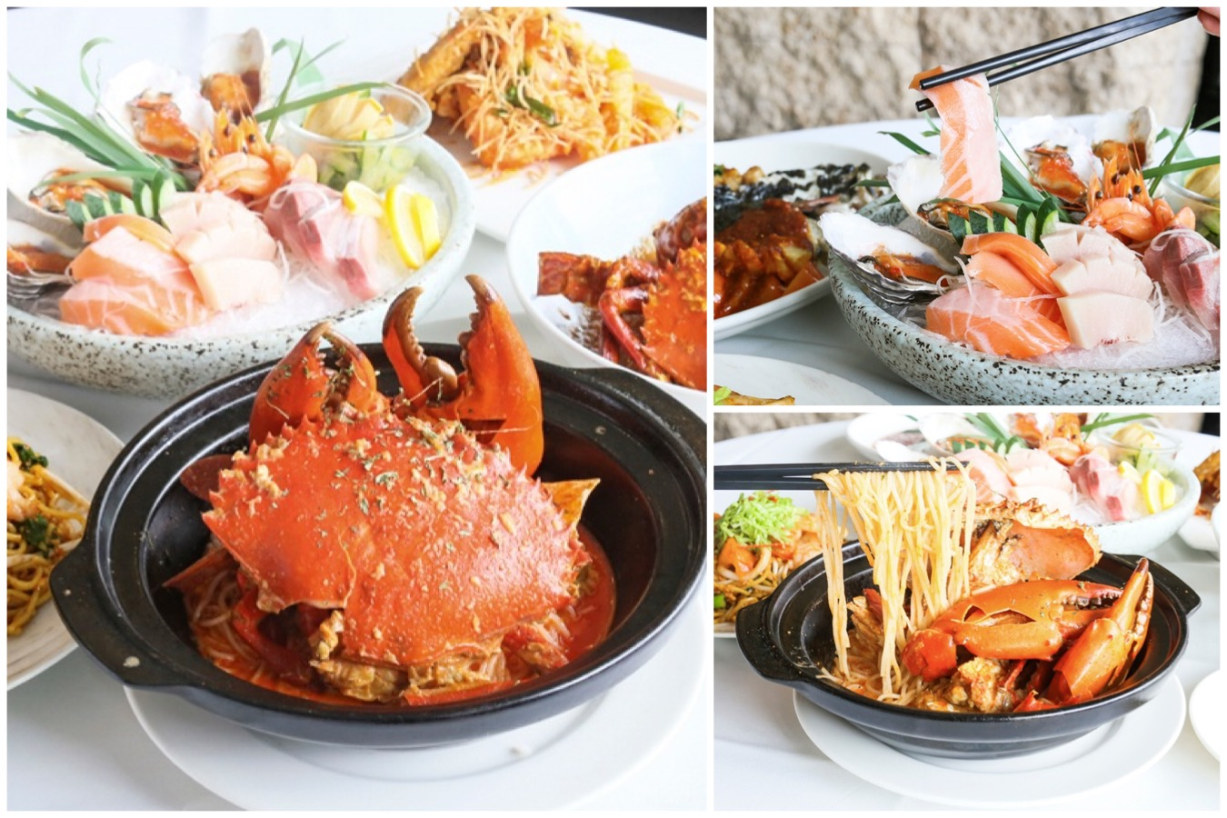 TungLok Seafood – Singapore Chilli Crab, Laska Crab And More Seafood At Orchard Central