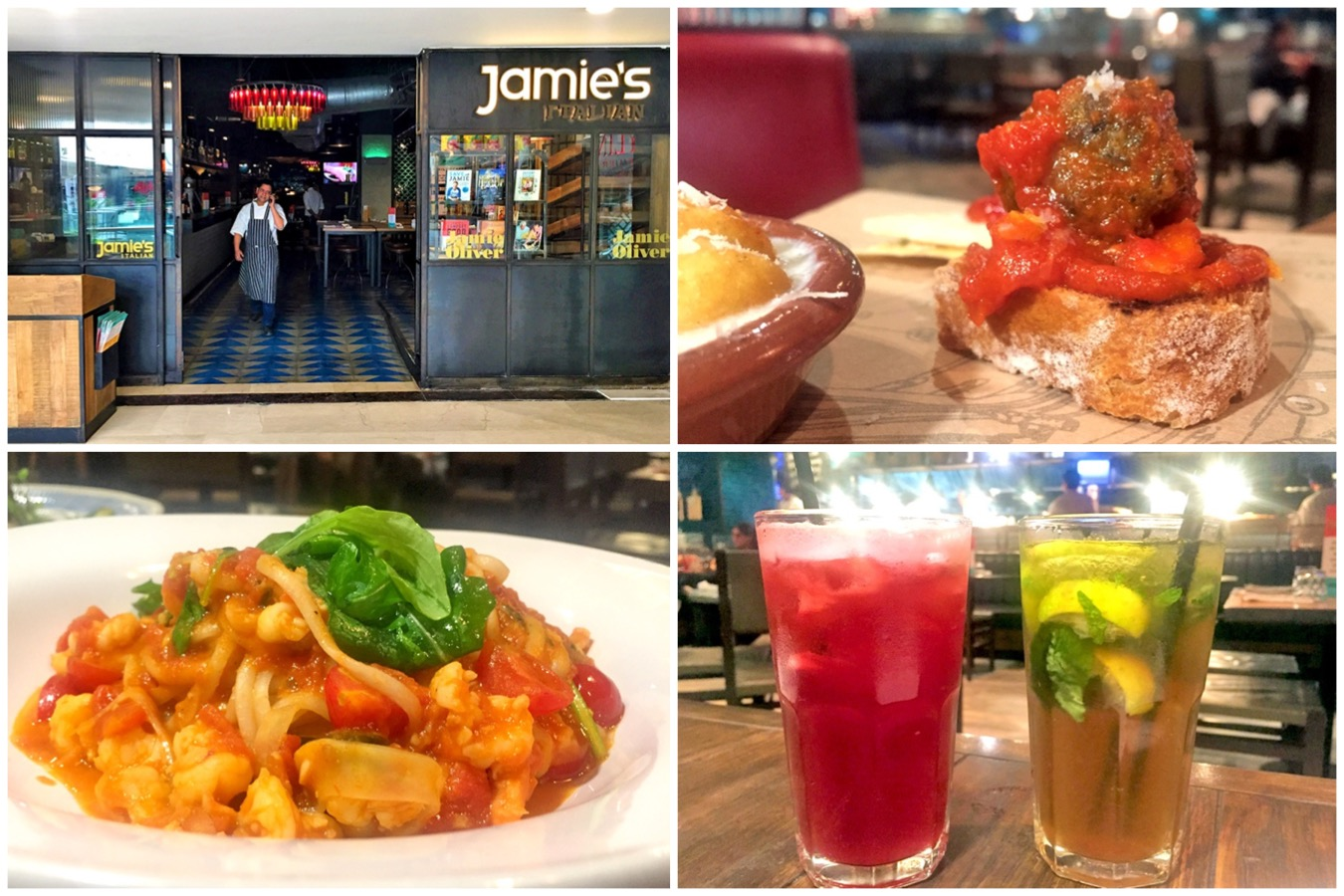 Jamie's Italian New Delhi - Celebrity Chef Brand With Classic Italian Cuisine, At Ambience Mall