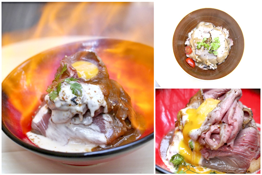 The Butcher's Kitchen – 1st Ever Flaming Hokkaido Beef Bowl In Singapore, At Suntec City