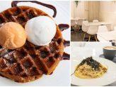 Carrara Café - Ice Cream Cafe Serving Mentaiko Pasta And Marmite Fried Chicken Waffles. At Jalan Bukit Merah
