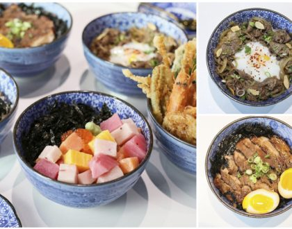 Kogane Yama - NEW Chirashi, Gyudon, Butadon and Mentaiko Bowl, At Bugis Junction
