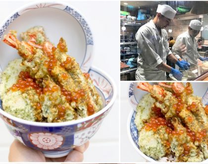 Tendon Kohaku - NEW Ocean Gems Seafood Tendon, And NEW Branch At Chinatown Point (coming soon)