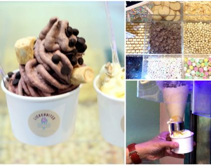 "Lickerbites - ""Infuse"" Favourite Ingredients Into Your Ice Cream, At Chevron House Raffles Place"